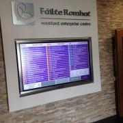 Interactive Screen Wexford Enterprise Centre