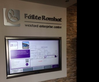 Interactive Screen Wexford Enterprise Centre